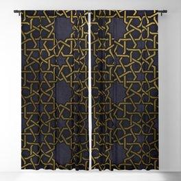 Islamic Ornaments Blackout Curtain