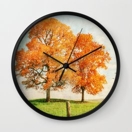 Siblings Wall Clock