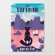Visit Vietnam Canvas Print