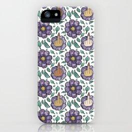 bad flower iPhone Case