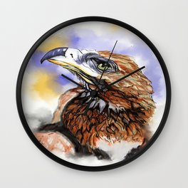 Wedgetailed Eagle Australian Bird Wall Clock