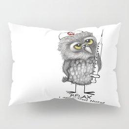 Owl Nurse Pillow Sham