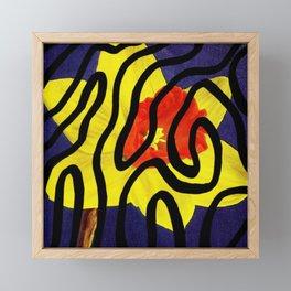 Daffodil Revamp Framed Mini Art Print