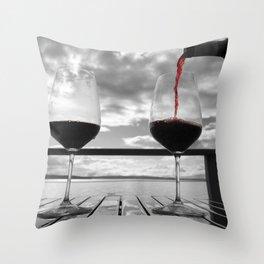 Wine Enthusiast Throw Pillow