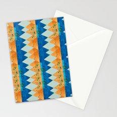 Opposites Love - Orange & Blue Stationery Cards