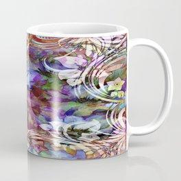 Fancy Midnight Floral Coffee Mug