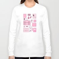 budapest Long Sleeve T-shirts featuring Grand Budapest Items by M. Gulin