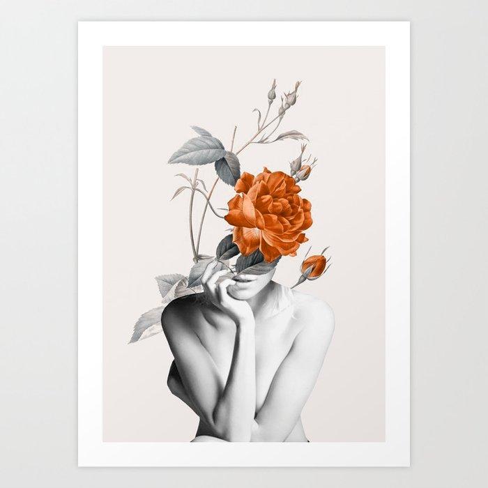 Rose 3 Kunstdrucke