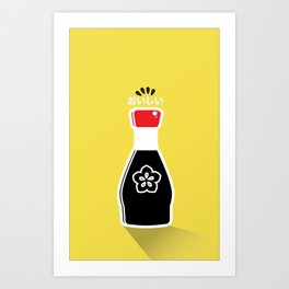 In My Fridge - Soy Sauce Art Print