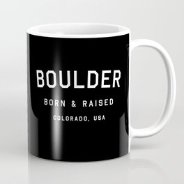 Boulder - CO, USA (Arc) Coffee Mug