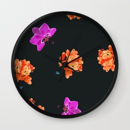 One and Only - Flowers Wall Clock