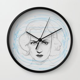 Space Lombard Wall Clock
