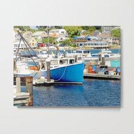 Pier photography landscape Metal Print