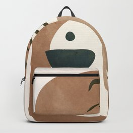 Abstract House Decoration Backpack