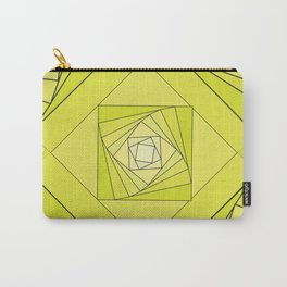 green rombus 1 abstraction Carry-All Pouch