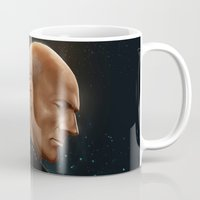 picard Mugs featuring Picard by Raven Krupnow