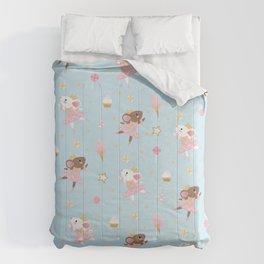 Sugar Plum Fairies Pattern Comforters