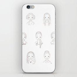 Princess of the Stars iPhone Skin