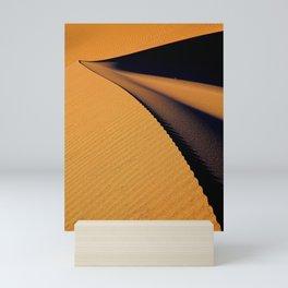 Dunes of Death Valley, California Mini Art Print