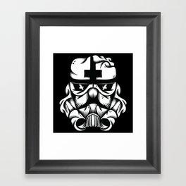 Satanic Trooper Framed Art Print