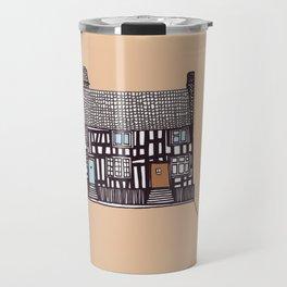 'Suffolk' House print Travel Mug
