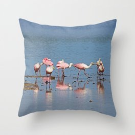Raising Offspring Has Its Challenges Throw Pillow