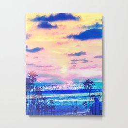 Sunset beaches Metal Print