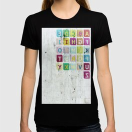encrypted message T-shirt