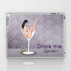 Drink Me Pin-up Laptop & iPad Skin