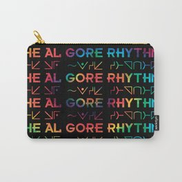 Tie Dyed Rhythm Carry-All Pouch