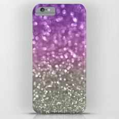 Lilac and Gray iPhone 6 Plus Slim Case