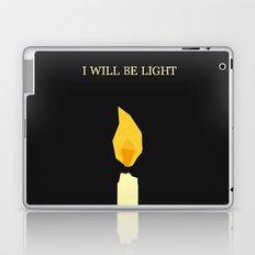 I will be light Laptop & iPad Skin