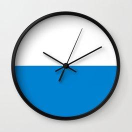 San Marino country flag Wall Clock