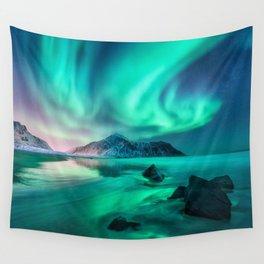 Aurora Borealis 5 Wall Tapestry