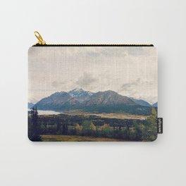 Fall Alaskan Mountain Crisp Landscape Carry-All Pouch