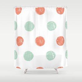 Dot Pattern Shower Curtain
