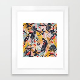 Paradise Birds II. Framed Art Print