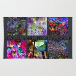 FLORAL AMBIENT of SUMMER Rug