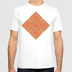 The Litost Window. MEDIUM White Mens Fitted Tee