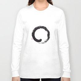 Enso / Japanese Zen Circle Long Sleeve T-shirt