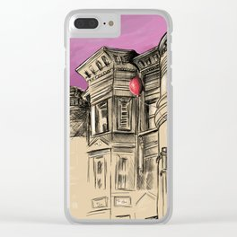 Computer viruses are airborne Clear iPhone Case