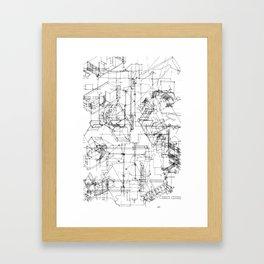 archisketch Framed Art Print