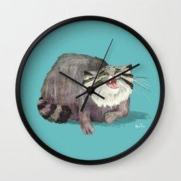 Manul Cat 2 Wall Clock