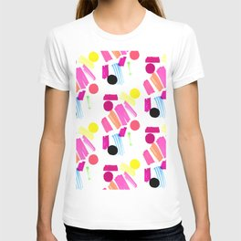 Modern, colorful art collage. T-shirt