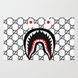 bape shark guci Rug