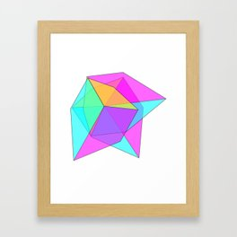 cube 3 Framed Art Print