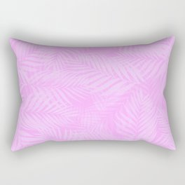 Palm Leaves - Orchid Pink Rectangular Pillow