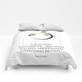 Look Deep Into Nature Comforters