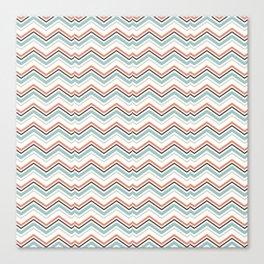 Modern Wave Pattern Design Canvas Print