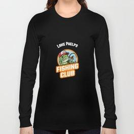 Lake Phelps FISHING CLUB Long Sleeve T-shirt
